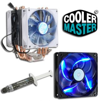 Cooling CPU & Case